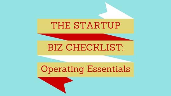 The Startup Biz Checklist Operating Essentials LogoGarden - business startup checklist
