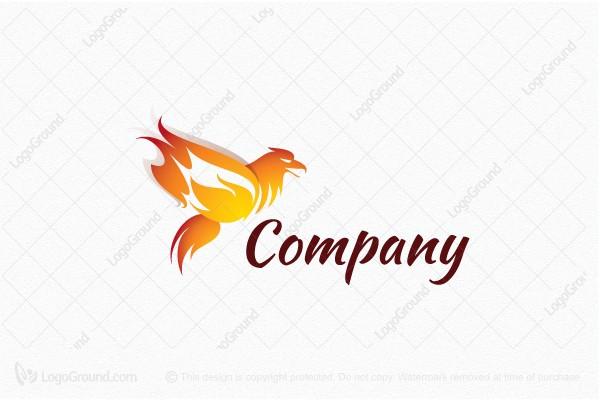 Phoenix Flame Logo - flame logo