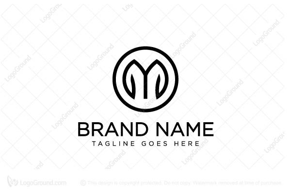 Letter M Clothing Logo