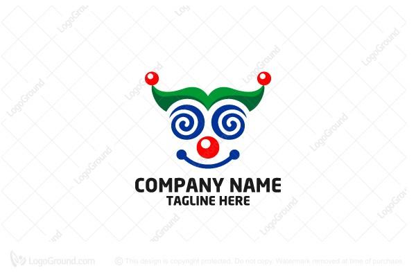Smile Clown Logo