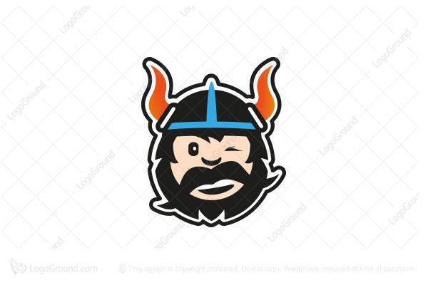 Viking Logo Funny Logo
