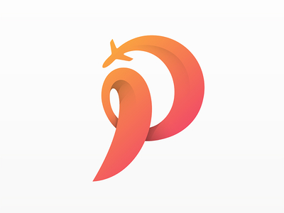 P for Plane - Logo Heroes - Logo inspiration Gallery - P & L Form