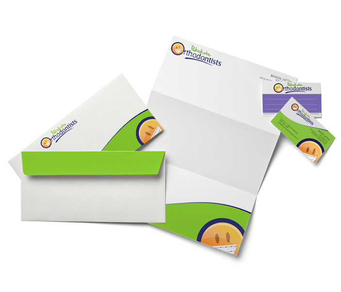 Stationery design with business card,letterhead,envelope for