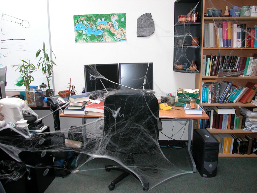 Spider Webs, Video Games, and Fun at the Office LogosTalk - office fun games