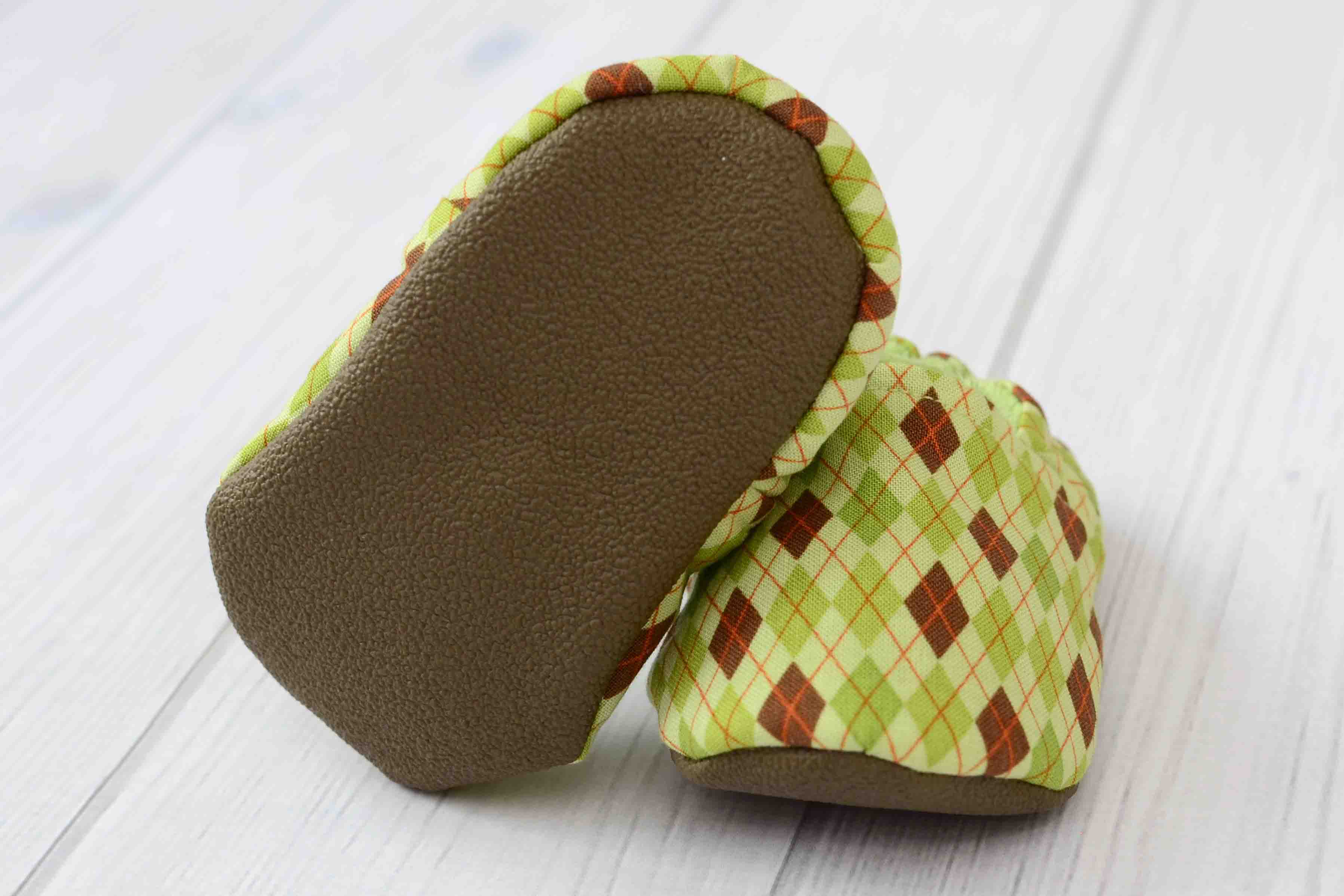 Green Argyle Shoes Labor Of Love Baby Boutique