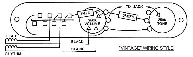 Telecaster Wiring Schematic - Wiring Diagram Write
