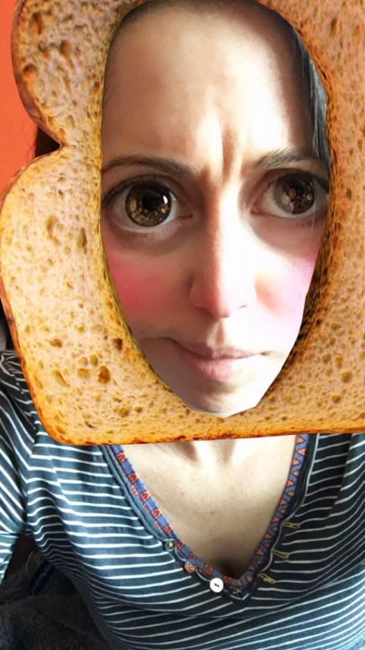 Snapchat toast