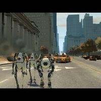 Grand Theft Auto IV - Portal 2 Co-op Bots Atlas And P-body (Mod)