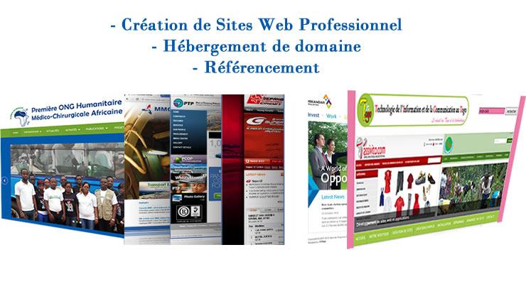 formation et cr ation de sites web au togo lome infos information de lom. Black Bedroom Furniture Sets. Home Design Ideas