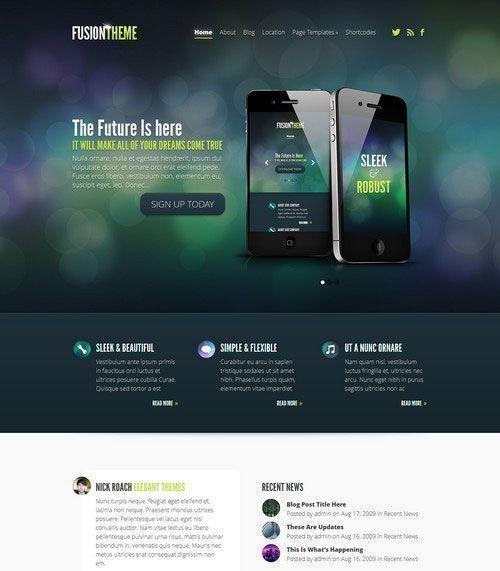 Fusion Business WordPress