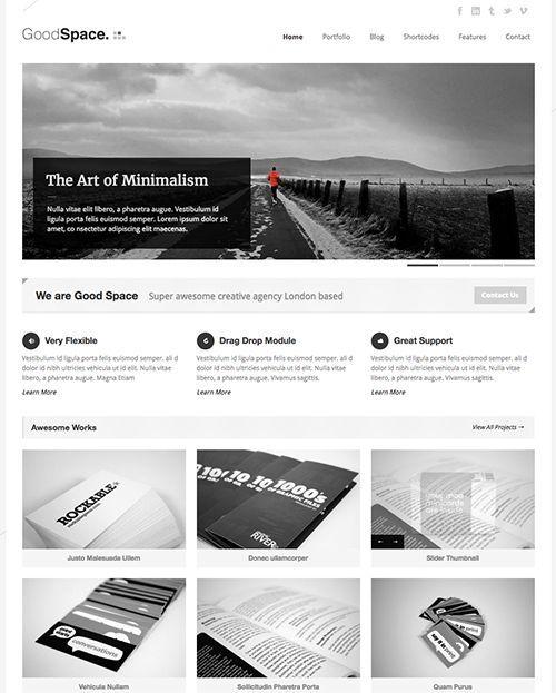 GoodSpace - Tema WordPress revistas