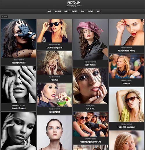 Photolux - Tema WordPress fotografía