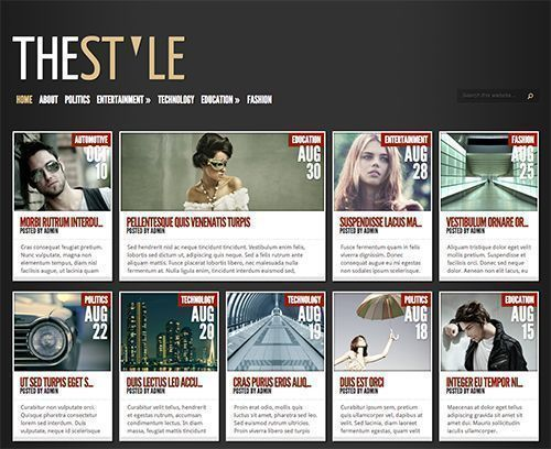 TheStyle - Tema WordPress para revistas y noticias