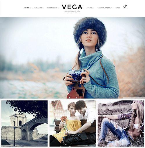 Vega - Tema WordPress blogs fotografía