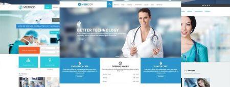 Mejores plantillas WordPress para medicina