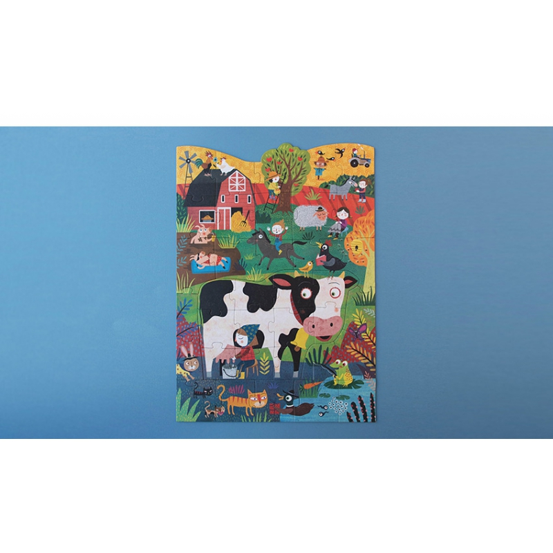 Moo puzzle by Londji Creative Toys