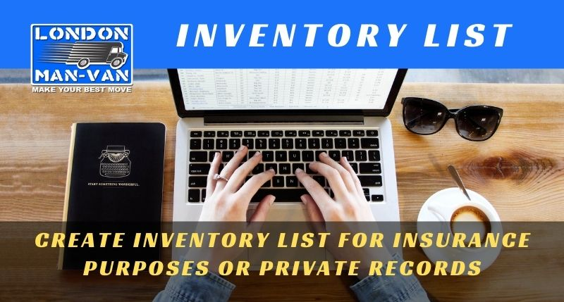 WHY SHOULD YOU MAKE HOUSEHOLD INVENTORY LIST?