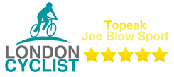5 star rating for the Topeak Joe Blow Sport