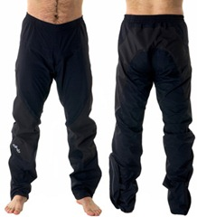 waterproof cycling trousers by DHB