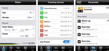 Coach My Ride iPhone app
