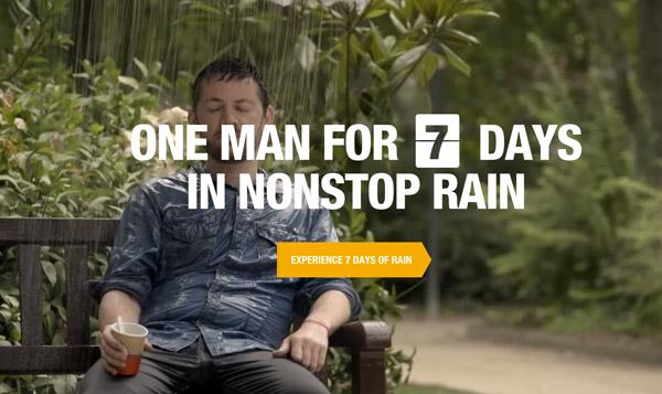 None stop rain