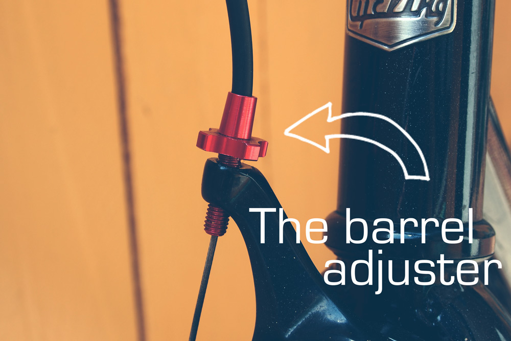 The barrel adjuster