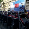 Boris bike van