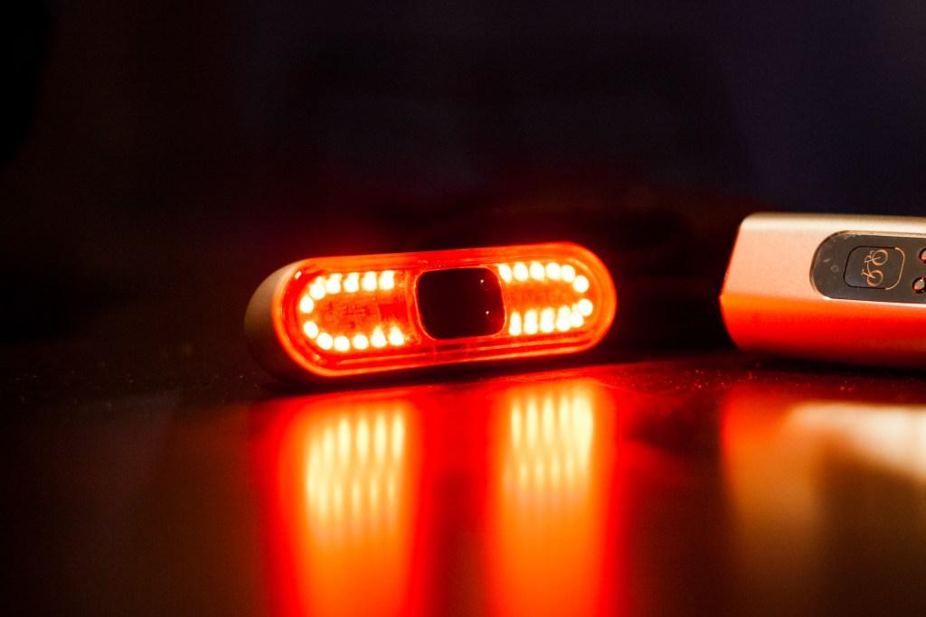 Burner rear light