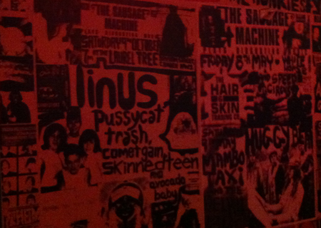 Bar Prague toilet door graffiti