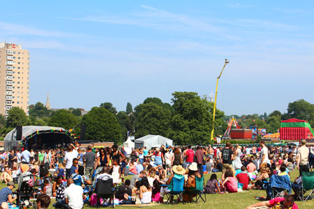 Lambeth Country Show in Brockwell Park Brixton