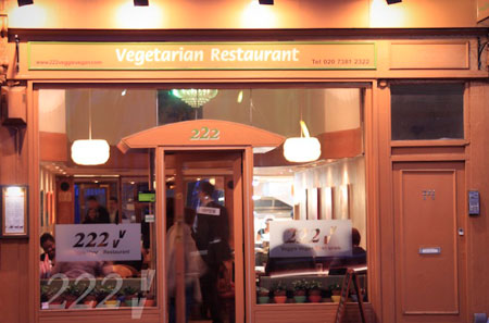 Vegetarian Restaurants - 222 Veggie Vegan