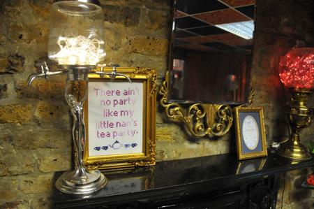 Little Nan's Bar in Deptford Cross Stitch