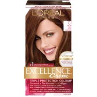 L'Oreal Excellence Creme Permanent Hair Colour - G1 Dark ...