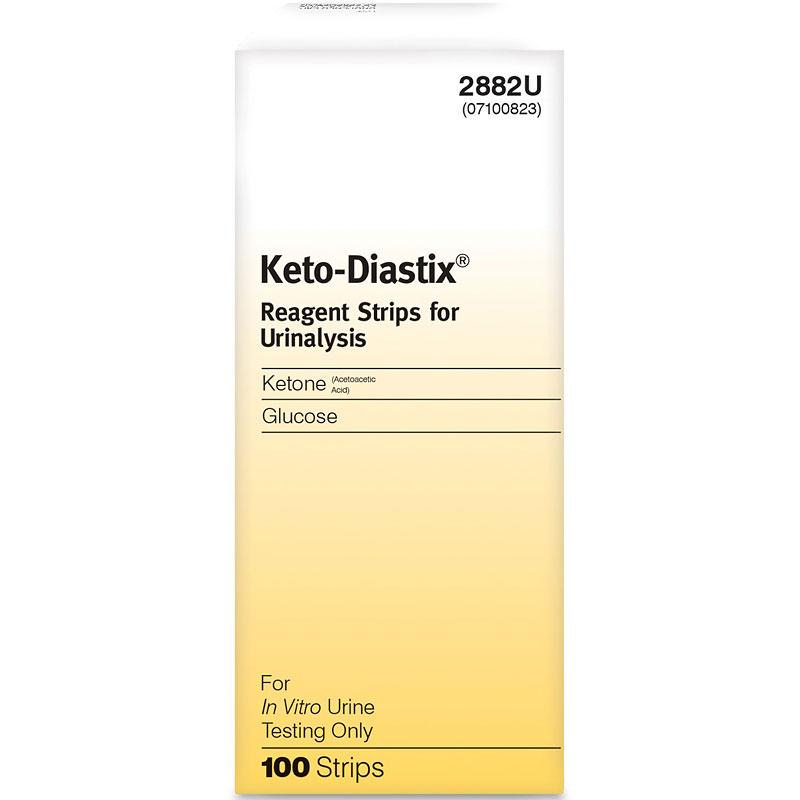 Ascensia Keto-Diastix Reagent Strips - 100\u0027s London Drugs