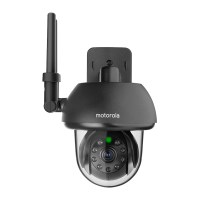Motorola FOCUS73 Outdoor WiFi Camera - Black - FOCUS73 ...