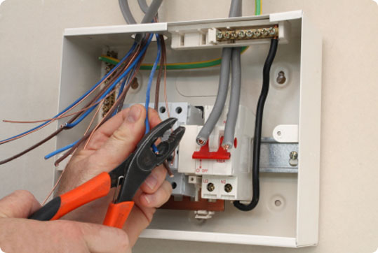 Domestic Fuse Box Wiring Diagram