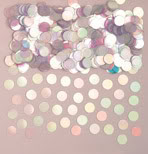 Irridiscent Dazzle Dots Table Confetti