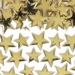Irridiscent Gold Star Sprinkles