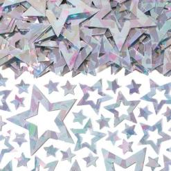 Silver Star Shimmer Table Confetti