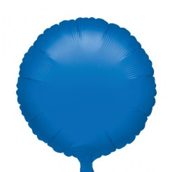 Metallic blue Helium Filled Foil Balloon
