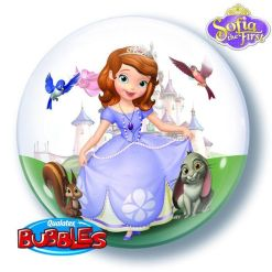 "Disney sofia The First 22"" Bubble Balloon"