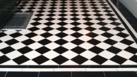 Black White Ceramic Tile - Home Decorating Ideas