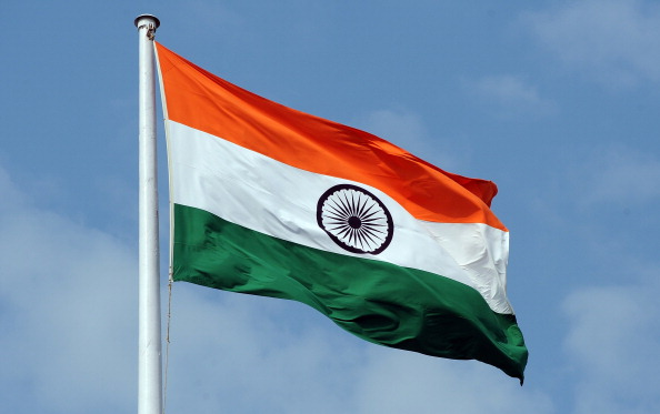 The Indian tricolour national flag  is seen flying above the Mantralaya state secretariat building in Mumbai on September 27, 2012. AFP PHOTO/ INDRANIL MUKHERJEE        (Photo credit should read INDRANIL MUKHERJEE/AFP/GettyImages)