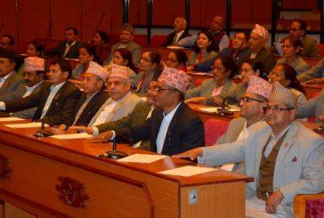राष्ट्रियसभा बैठक : दैनिक उपभोग्य बस्तुको अभाव हुन नदिन सरकारको ध्यानाकर्षण