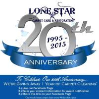 Lone Star Carpet Care Free Carpet Cleaning For A Year ...