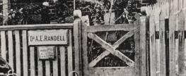 Dr Allan Elliott Randell (1871-1941)