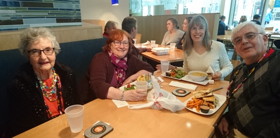 42 - blogger lunch #1