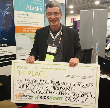 Congrats to Louis Kessler, 3rd place in the Innovator Showdown