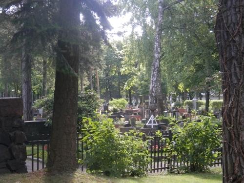 the Helsinki cemetery, Finland