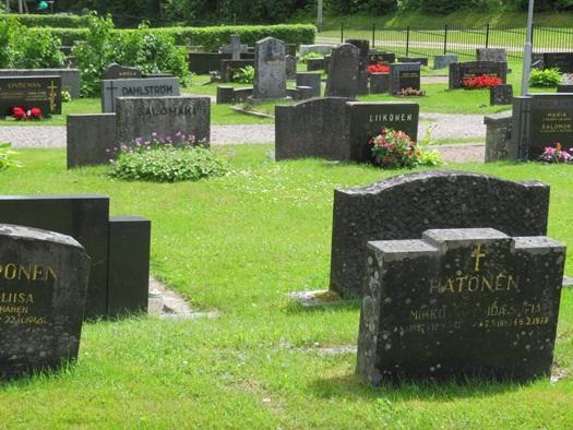 cemetery at Hämeenkoski